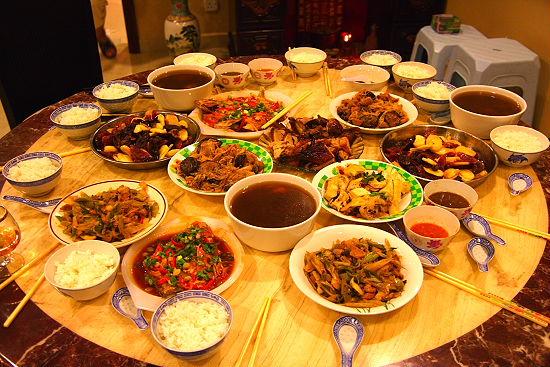 中華正月の料理