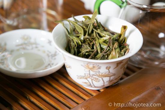 pu-erh raw tea