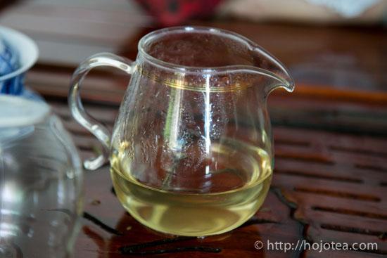 Liquor of wild tea