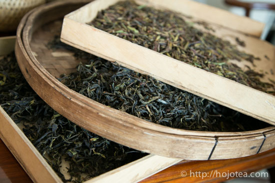 2 types of wild tea