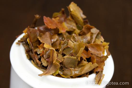 ダージリンオータムナルの茶殻