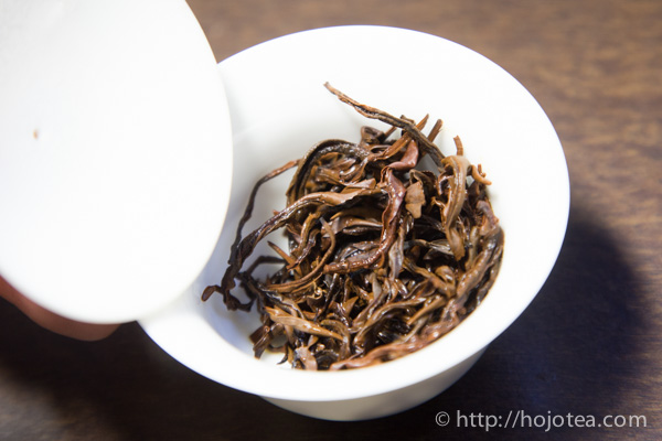 火鳳凰の茶葉