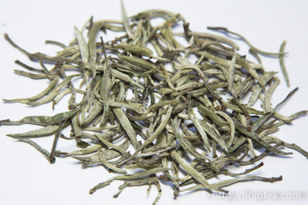 the tea leaf of gu shu yinzhen