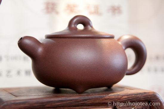 宜興の紫泥茶壺