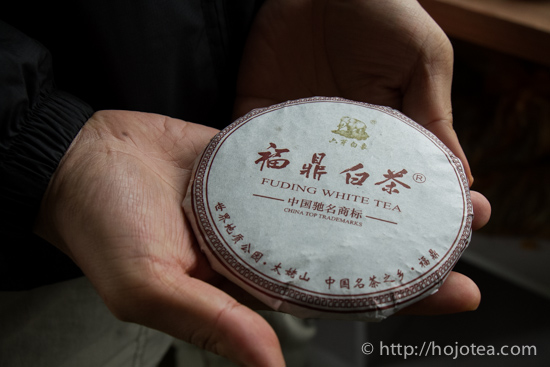 white tea cake