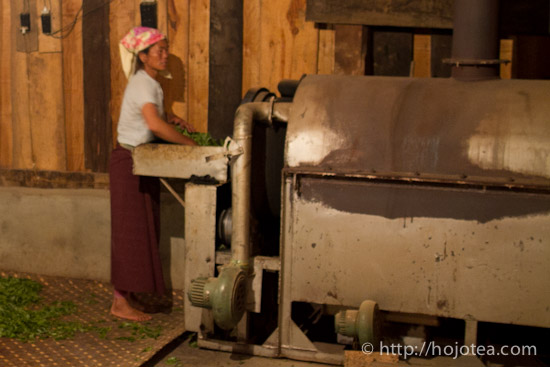 drum pan-frying machine