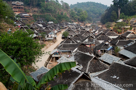 minority village in jing mai
