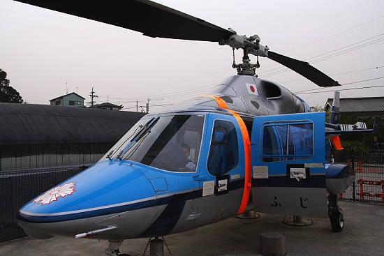 静岡県警が使用していたヘリコプター