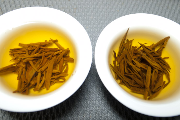 the leaf color is essential to judge the quality of black tea