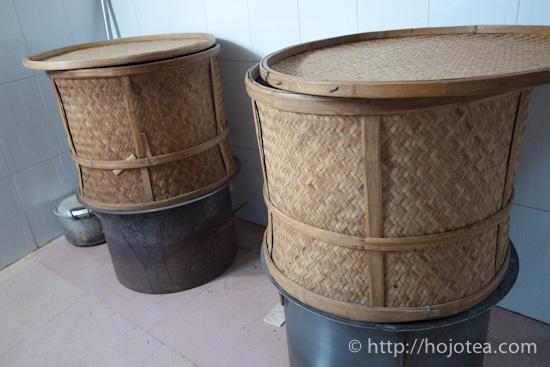 乾熱式の焙籠