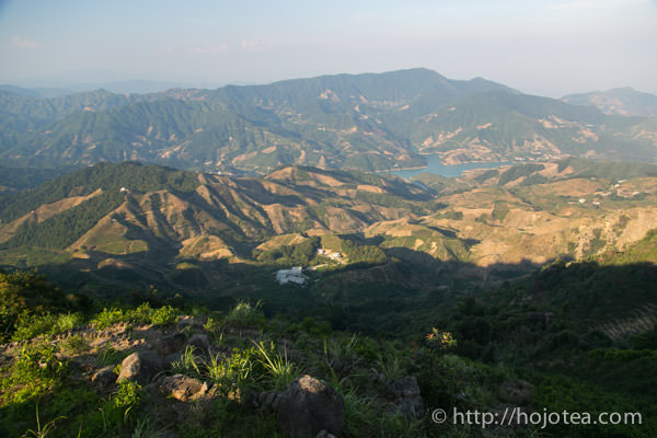Montain view from Wudong mountain