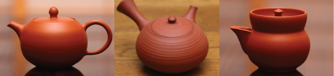 red clay teapot before baking