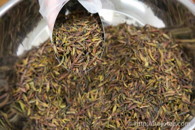野生のプーアル茶、野生春芽