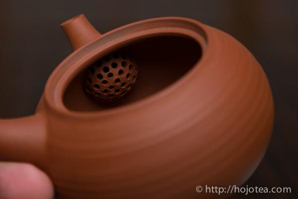 陶製茶漉し