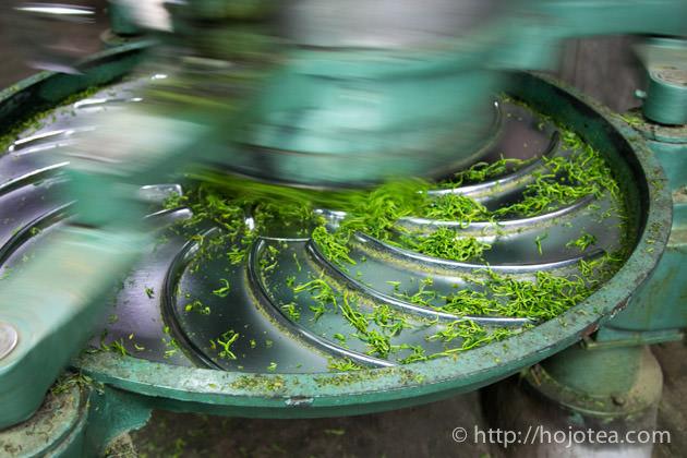 緑茶の加工