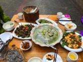 雲南省でプーアル茶の仕入