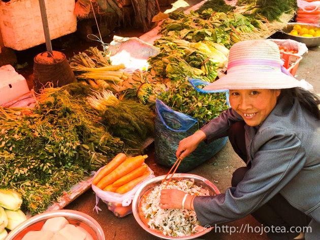 雲南省お茶の仕入 2015