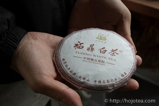 白茶の熟成