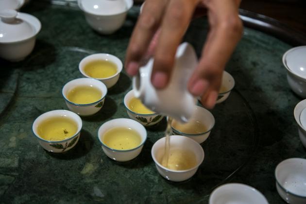 烏龍茶(ウーロン茶)のおいしい入れ方(淹れ方)