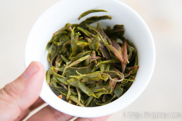 大雪山野生プーアル生茶