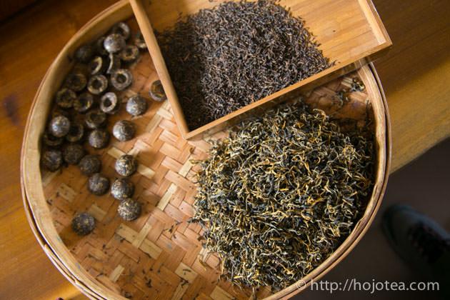 自然栽培の紅茶と宮廷グレードのプーアル熟茶のコラボによる新商品
