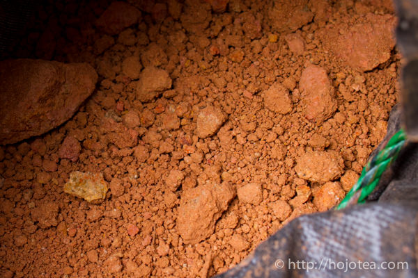 The crude clay of mumoyi