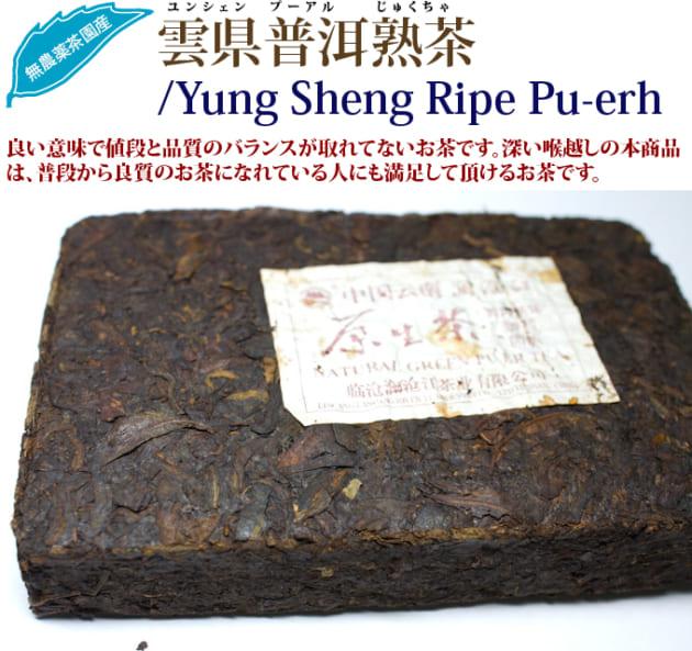 雲県普洱熟茶